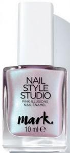 """Полуматовый лак для ногтей """"Дизайн-студия. Эффект сатина. Розовая иллюзия"""""""